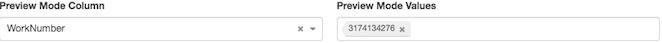 図は、アカウント コードが「 3799」 に設定された連絡先は常にプレビュー ダイヤルされることを示しています
