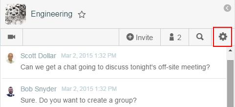 Mute chat notifications