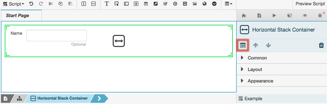 Click The Create Component Template Button In Properties Panel