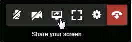 Compartir la pantalla