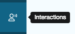 Interactions icon