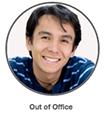 Presencia fuera de la oficina y fuera de línea
