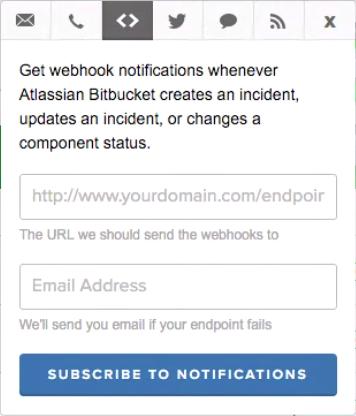 StatusPage webhook fields