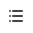 箇条書きフォーマット ボタン