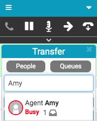 Main status in Transfer window