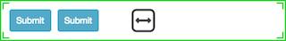 図は、水平に配置された2つのコンポーネントを示しています。