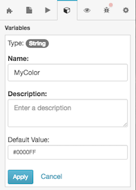 select-color-in-variable