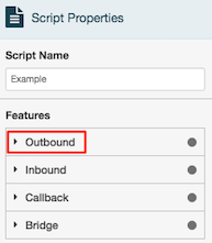 select-outbound-properties