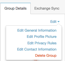 set privacy rules for a group purecloud resource center