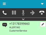 SMS interaction alerting