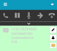 SMS interaction disconnected