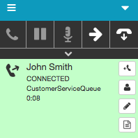 Voicemail interaction connected