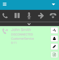 Voicemail interaction disconnected
