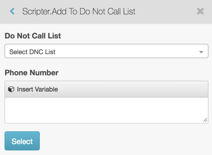 Available script actions - PureCloud Resource Center