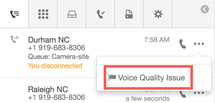 Voice Quality Issue