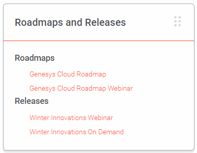 Roadmap tile in GKN