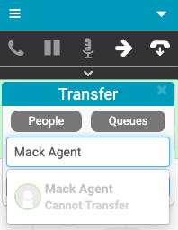 Cannot transfer media type to agent message